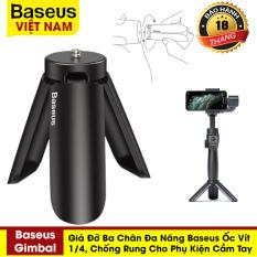 Giá đỡ ba chân đa năng Baseus Gimbal, ốc vít 1/4 cho phụ kiện cầm tay giúp ổn định, chống rung – Phân phối chính hãng tại Baseus Việt Nam