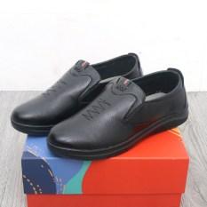 Giày lười da nam Muidoi G730 đen