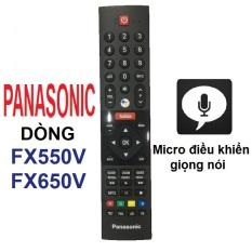 Remote điều khiển tivi Panasonic có micro Panasonic android tv dòng FX550V FX650V (Micro điều khiển giọng nói)