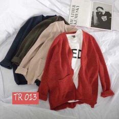 Áo khoác nhẹ nữ mặc bốn mùa đều được 1111 ( MÀU XÁM )