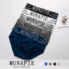 Combo 3 quần lót nam chéo dệt kim cao cấp MUNA FIE