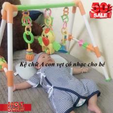 KỆ CHỮ A CON VẸT CÓ NHẠC,Kệ Đồ Chơi Chữ A,đồ chơi cho bé yêu ,giúp bé vui chơi không khóc,…