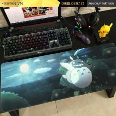 [80x30x0.3 – Nhiều mẫu] Lót chuột, bàn di chuột siêu lớn chủ đề anime Totoro