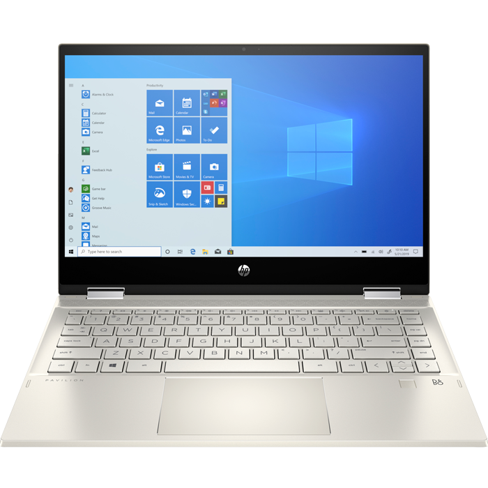 Laptop HP Pavilion x360 14-dw0060TU (195M8PA) i3-1005G1 | 4GB | 256GB | Intel UHD Graphics | 14″ FHD Touch | Win 10