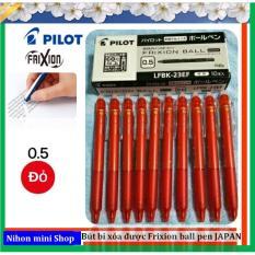 10 Bút bi xóa được Frixion ball Japan (đỏ)