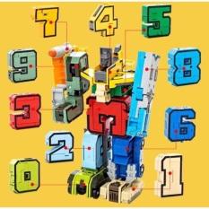 Robot Lắp Ghép Mô Hình Con Số