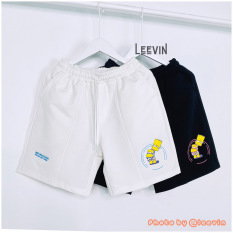 Quần short Unisex nam nữ HEY YOU Look But Don't Touch Leevin Store