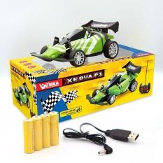 Đồ Chơi Duka Xe đua F1 – điều khiển từ xa, có đèn led và pin sạc