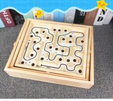 Trò chơi tư duy lăn bi trong mê cung, trò chơi giáo dục chống căng thẳng, rèn luyện tư duy KT 31×25,5x7cm – FUNNYTIMES