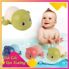 Rùa con bơi lội dưới nước vặn cót thông minh trong nhà khi tắm cho trẻ em bé trai gái