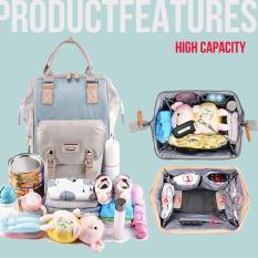 Balo bỉm sữa túi giữ nhiệt bình sữa, 13 ngăn, chông thấm Dokoclub mẫu 2020 đựng đồ cho mẹ và bé đi ra ngoài