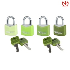 Bộ 4 Ổ Khóa Master Lock 9123 EURQCOLNOP Khóa Vali Rộng 20mm 4 Chìa Dùng Chung – MSOFT