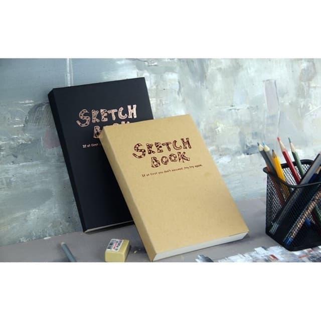 SỔ VẼ SKETCH BOOK A5/A4(siêu dày 120 tờ)