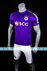 Bộ quần áo bóng đá CLB HÀ NỘI FC màu tím đồ đá banh mới