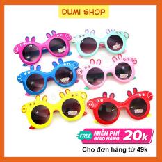Kính mát cho bé thiết kế hoạt hình dễ thương nhiều màu sắc – kính mát trẻ em Dumi Shop