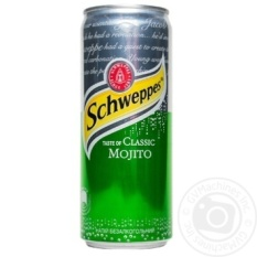 Schweppes Taste of Classic Mojito 330 ml – Nước ngọt có ga vị cocktail cổ điển SCHWEPPES 330ml