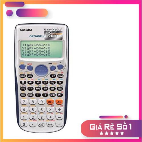 Máy tính casio fx 570 vnplus – Hàng thái lan – Có thẻ bảo hành – Lỗi đổi mới