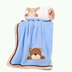 Bộ 02 chăn carter hình gấu thỏ cho bé, sản phẩm cam kết như hình, sản phẩm tốt chất lượng và độ bền cao