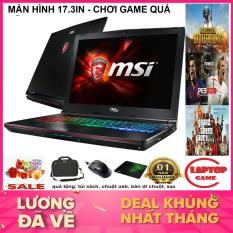 GAME KHỦNG MÀN 17.3IN MSI GE72 2QD Core i5-4210HQ/ Ram 8GB/ 500G/ VGA GTX960M, 17.3 inch Full HD ) Phím 7 Màu RGB, VỎ NHÔM CAO CẤP