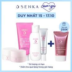 [ MUA 1 TẶNG 1 ] Bộ sản phẩm dưỡng trắng Senka