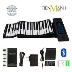 Đàn Piano Điện Konix PS88 – 88 phím cuộn mềm dẻo Flexible PS-88 – Hãng phân phối chính thức – (Roll Up Piano – Pin sạc 170mAh – Có Pedal – Midi Keyboard Controller)