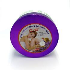 Kem dưỡng trắng da toàn thân Ốc sên – Sữa dê – Lavender Q10 200g (Tím – Trắng)
