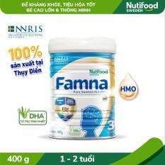 Sữa Bột FAMNA step 3 từ 1-2 tuổi lon 400g- Bé Cao Lớn, Thông Minh [Ưu đãi vận chuyển]