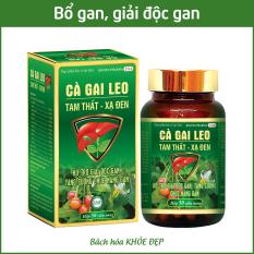 Viên uống bổ gan Cà Gai Leo Tam Thất Xạ Đen mát gan, giải độc gan – Chai 50 viên