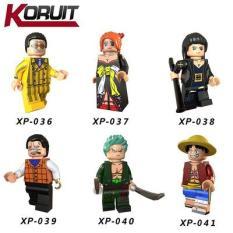 Đồ Chơi lắp ghép Lego Minifigures set 6 nhân vật one piece