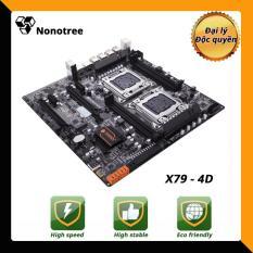 Mainboard X79-4D HUANANZHI dual LGA2011 CPU DDR3, non-ECC ram,Nonotree,bảo hành 3 năm,Tốt hơn i7,máy chủ,đa nhiệm,studio