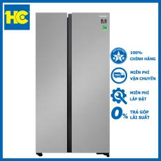 Tủ lạnh SBS Samsung Inverter 647 lít RS62R5001M9/SV – Miễn phí vận chuyển & lắp đặt – Bảo hành chính hãng