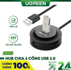 Hub USB 2.0 4 cổng tốc độ cao UGREEN CR106 CR123 – Hãng phân phối chính thức