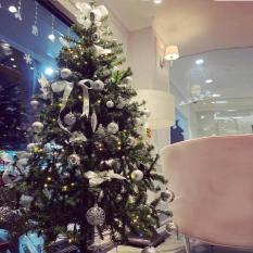 Cây thông Noel xanh loại đẹp cao cấp 1m5