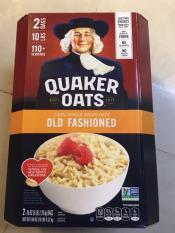 (mau moi)Yến mạch nguyên hạt Quaker Oats Old Fashioned 4.52 kg(hsd2020)