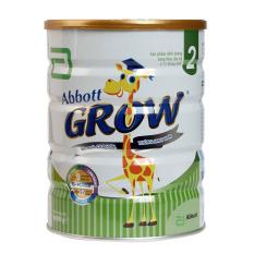 Sữa Bột Abbott Grow 2 – Hộp 900g (Ước muốn Cao hơn, Thông Minh hơn)
