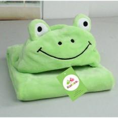 Chăn ủ Carter siêu mềm ếch xanh lá, sản phẩm tốt với chất lượng và độ bền cao, cam kết giống như hình