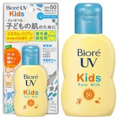 Sữa Chống Nắng Trẻ Em Biore UV Kids Pure Milk SPF50PA+++ 70ml – Nhật Bản