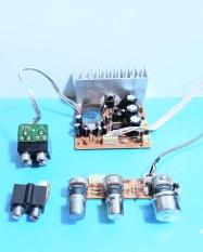 Mạch khếch đại 3 kênh + âm sắc (tháo máy) 50