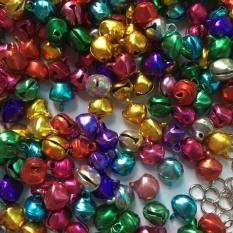 1 gói 70 chuông nhỏ trang trí màu ánh kim