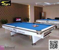 [HCM]Phiếu mua Bàn bida Aileex 9019 màu Trắng [Bàn bida Lỗ/ Pool Table]