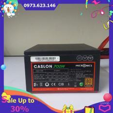 Bộ nguồn máy tính công suất thực Micron caslon 700W 80 Plus Bronze nhập khẩu Hàn Quốc