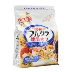 Ngũ cốc trái cây Frugra Calbee Nhật Bản 600g ít đường (Date 4/2021)