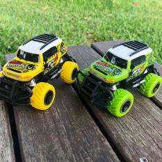 Xe điều khiển từ xa tốc độ cao, xe đồ chơi oto dẫn động 2 bánh nhựa ABS an toàn (bảo hành 6 tháng) màu xanh lá