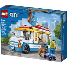 LEGO CITY 60253 Xe Tải Bán Kem ( 200 Chi tiết)