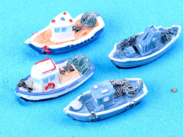 Mô hình thuyền biển mini