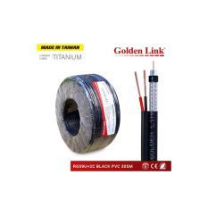 Cable Camera GOLDEN TAIWAN RG59/u+2c 305m (có nguồn)