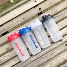 Bình Nước Tập Gym, Bình Lắc, Bình Gym My protein, Bình Thể Thao 600ml Chính Hãng Cao Cấp Nhiều Màu