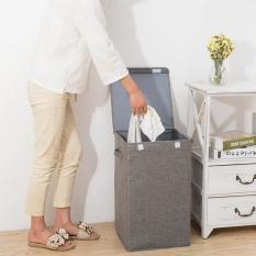 Hộp đựng đồ .giỏ đựng quần áo lưu trữ tiện dụng Chất liệu cotton 63-40-40cm