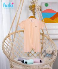 Bộ body đùi vải gỗ sồi cao cấp cho bé 4-12kg + Set body liền thân cho bé vải Modal siêu mềm mịn, hàng chính hãng xuất khẩu HAKI BM020 (4-13kg)