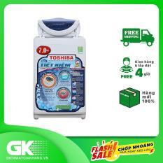 Máy giặt cửa trên TOSHIBA AW-A800SV(WB) 7 kg, mâm giặt Hybrid Powerful, lồng giặt thiết kế thoát nước nhanh, tính năng ghi nhớ và khôi phục chương trình giặt